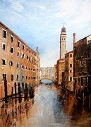 Expensive Painting Posters - Venice Italy Poster by Jean Walker