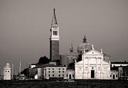 Gregory Dyer - Venice Italy - San Giorgio Maggiore island in sepia tone