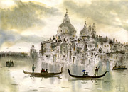 Venice Framed Prints - Venice IV Framed Print by Svetlana and Sabir Gadghievs