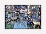Venice Photo Prints - Venice IV w/ digital mat Print by Tom Prendergast
