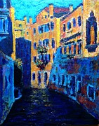 Venice Mixed Media Originals - Venice by Julia Shapiro