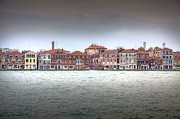 Old Home Place Framed Prints - Venice La Giudecca Island Framed Print by Martin Joyful