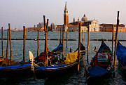 Italian Landscapes Prints - Venice parking Print by Don Ellis