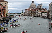 Event Photo Prints - Venice Regatta Print by Fraida Gutovich