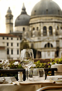 Vino Photo Originals - Venice romantic drink by Ioan Panaite