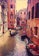 Gondolier Originals - Venice Row by Rollin Jewett