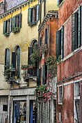 Street Photography Digital Art - Venice V by Tom Prendergast