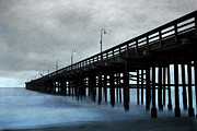 Blend Framed Prints - Ventura pier Framed Print by Elena Nosyreva