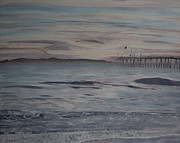 Ventura Pier Originals - Ventura Pier High Surf by Ian Donley