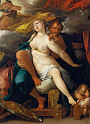 Spranger - Venus and Mars warned by Mercury by Bartholomeus Spranger