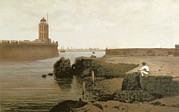 Mexican Landscapes Prints - Veracruz. Port And Castle Of San Juan Print by Everett