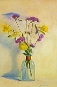 Verbena Paintings - Verbena by Elizabeth B Tucker