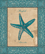 Starfish Framed Prints - Verde Mare 1 Framed Print by Debbie DeWitt