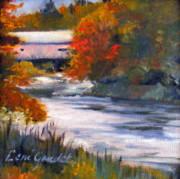 Vermont Covered Bridge Print by Lenore Gaudet