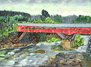 Michael Daniels - Vermont Covered Bridge