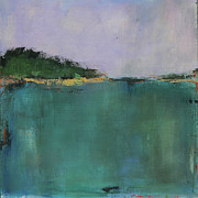 Abstract Landscape Art - Vermont Pond II by Jacquie Gouveia