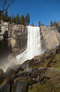 Adventure Tapestries Textiles - Vernal Falls Yosemite by Jane Rix
