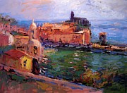 R W Goetting - Vernazza afternoon