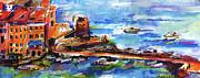 Ginette Callaway - Vernazza Harbor Travel Italy