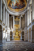 Riches Metal Prints - Versailles Chapel Metal Print by Brian Jannsen
