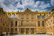 Architecture Photos - Versailles Courtyard by Inge Johnsson