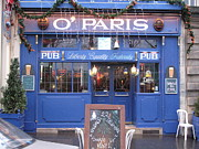 Irish Pubs Posters - Versailles France Restaurants -  Irish Pub O Paris  Poster by Kathy Fornal