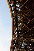 Grate Photos - Vertical Eiffel by Evie Carrier