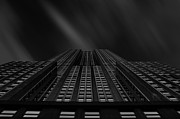Manhattan Photos - Vertical Scale by Johnny Lam
