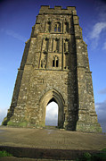 The Crusades Framed Prints - Vertical view of Glastonbury Tor Framed Print by Deborah Benbrook