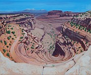 Vertigo Originals - Vertigo at Canyonlands by Linda Wilson