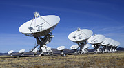 Telescopes Prints - Very Large Array Of Radio Telescopes 3 Print by Bob Christopher