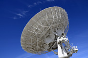 Telescopes Prints - Very Large Array Of Radio Telescopes 4 Print by Bob Christopher