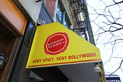 Allen Beatty Posters - Very Spicy Very Bollywood Poster by Allen Beatty