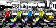 Anthony Poynton - Vespa Parade