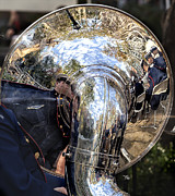 Music And Musicians - Veterans Day NYC 2012 11 11 12 4 Coast Guard Band by Robert Ullmann