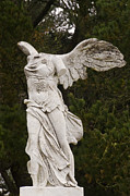 Winged Victory Of Samothrace Prints - Veterans Memorial Of The Golden West Print by Scott Lenhart