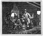 Farrier Prints - Veterinarian, 1859 Print by Granger