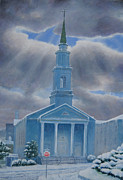 Baptist Painting Originals - Vhbc by Kenneth Stockton