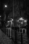 Naples Metal Prints - Via dei Tribunali Metal Print by Marion Galt