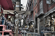 Naples Metal Prints - Via San Gregorio Armeno Metal Print by Marion Galt