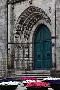 Medieval Entrance Posters - Viana do Castelo Cathedral Poster by James Brunker