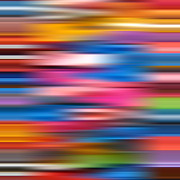 Graduated Background Posters - Vibrant colors abstract blur Poster by Stephen Rees