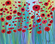 Stacey Zimmerman - Vibrant Poppies