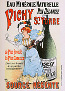 Vichy Framed Prints - Vichy St Yorre Mineral Water Framed Print by Charles Ross