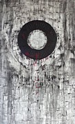 Pallet Knife Painting Originals - Vicious Circle by Rob Van Heertum