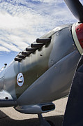 Spitfire Photos - Vickers Spitfire W W 2 Aircraft by Daniel Hagerman