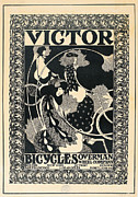 Bradley Paintings - Victor Bicycles by William Henry Bradley