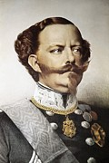 Mustaches Metal Prints - Victor Emmanuel Ii 1820-1878 Metal Print by Everett