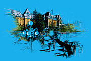 Vancouver Giclee Prints Paintings - Victoria Art 002 by Catf