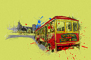 Vancouver Giclee Prints Paintings - Victoria Art 014 by Catf